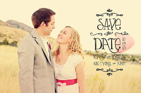 save the date d day wedding planner