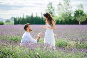 DEMANDE EN MARIAGE LAVANDE