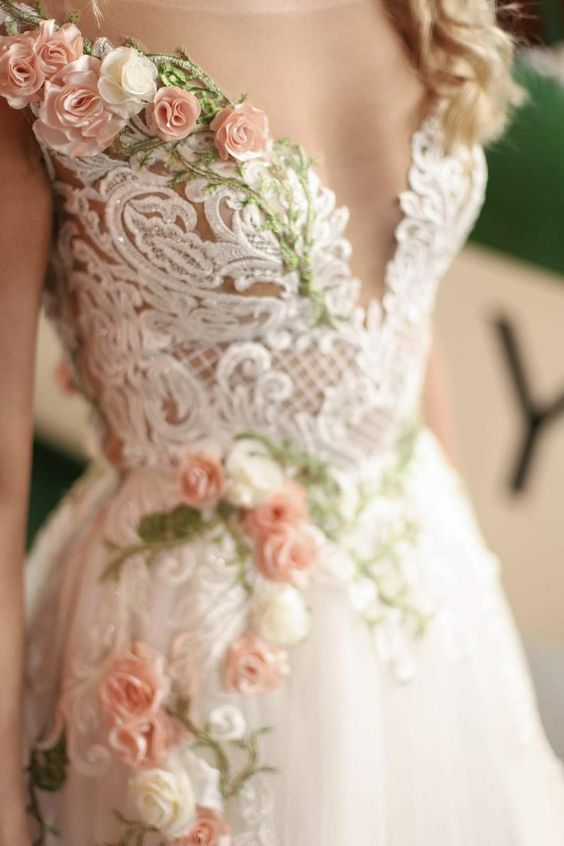 Les Robes De Mariee Colorees Par D Day Wedding Planner