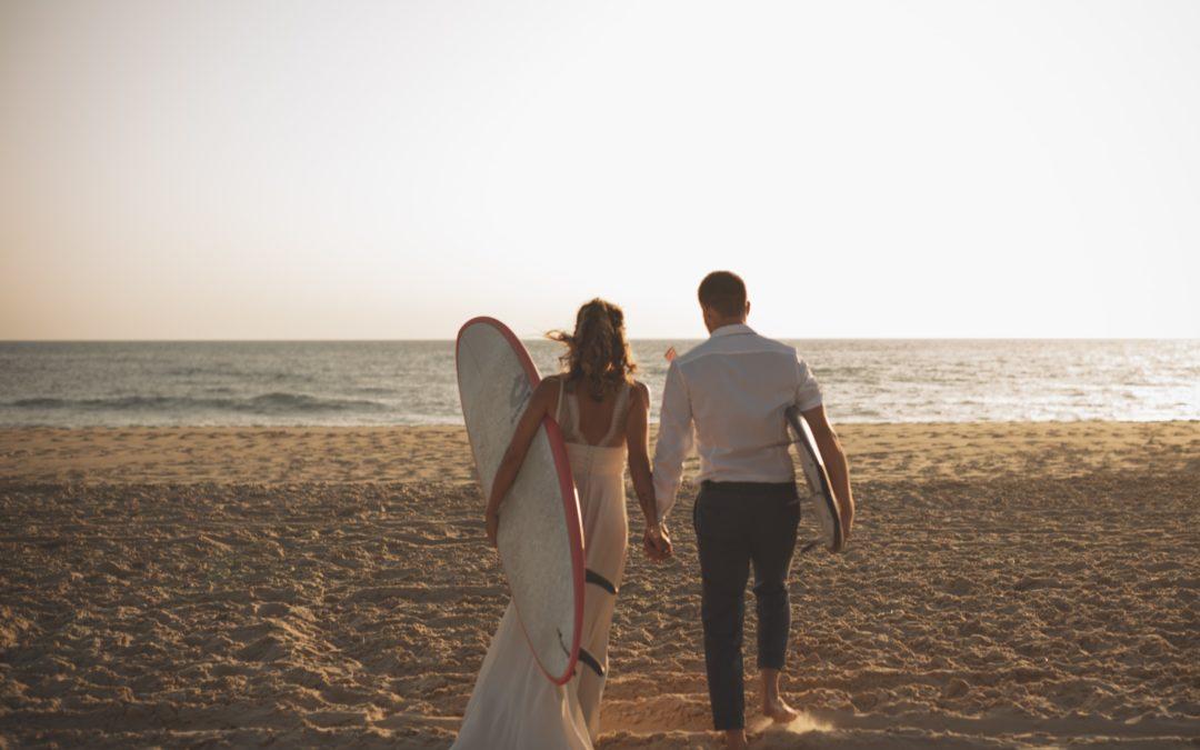 Surf Lover Wedding