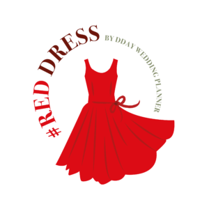 Red Dress D day wedding Planner