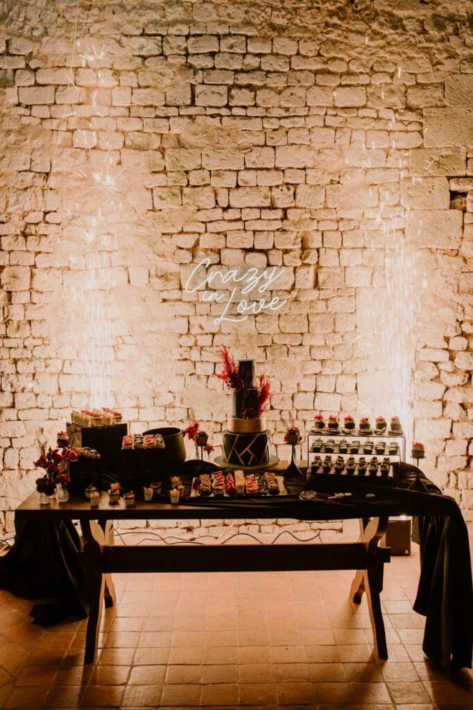 dessert de mariage normandie wedding planner