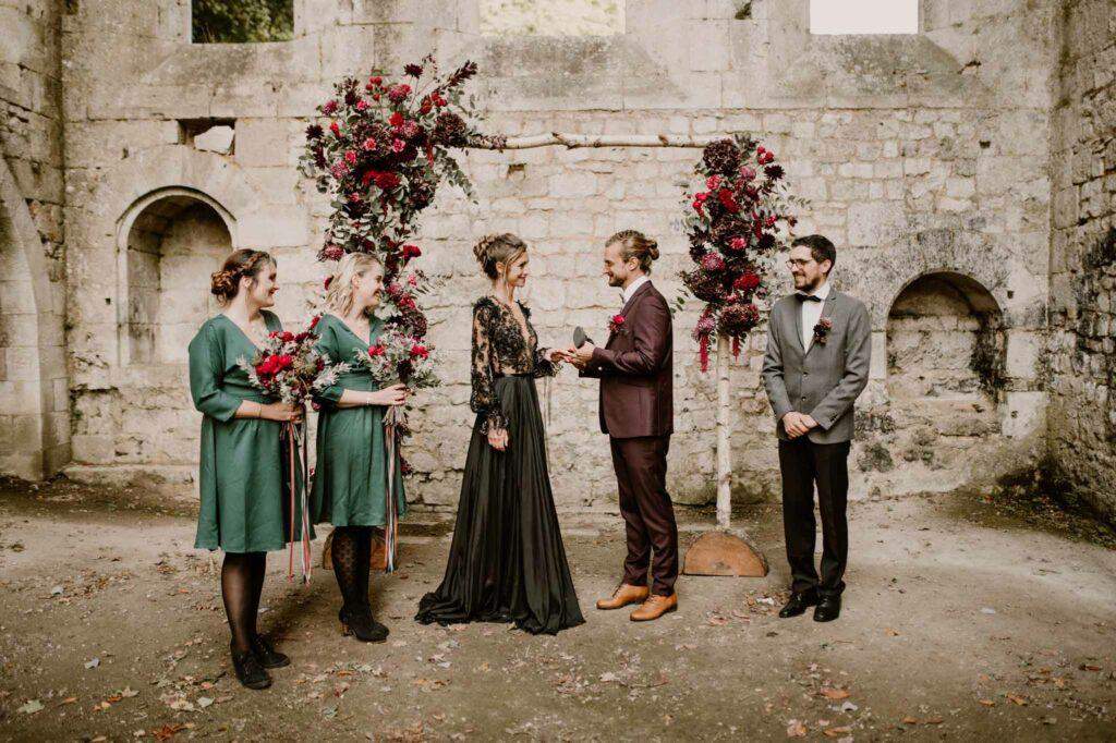 film mariage automnale d day wedding planner organisation mariage