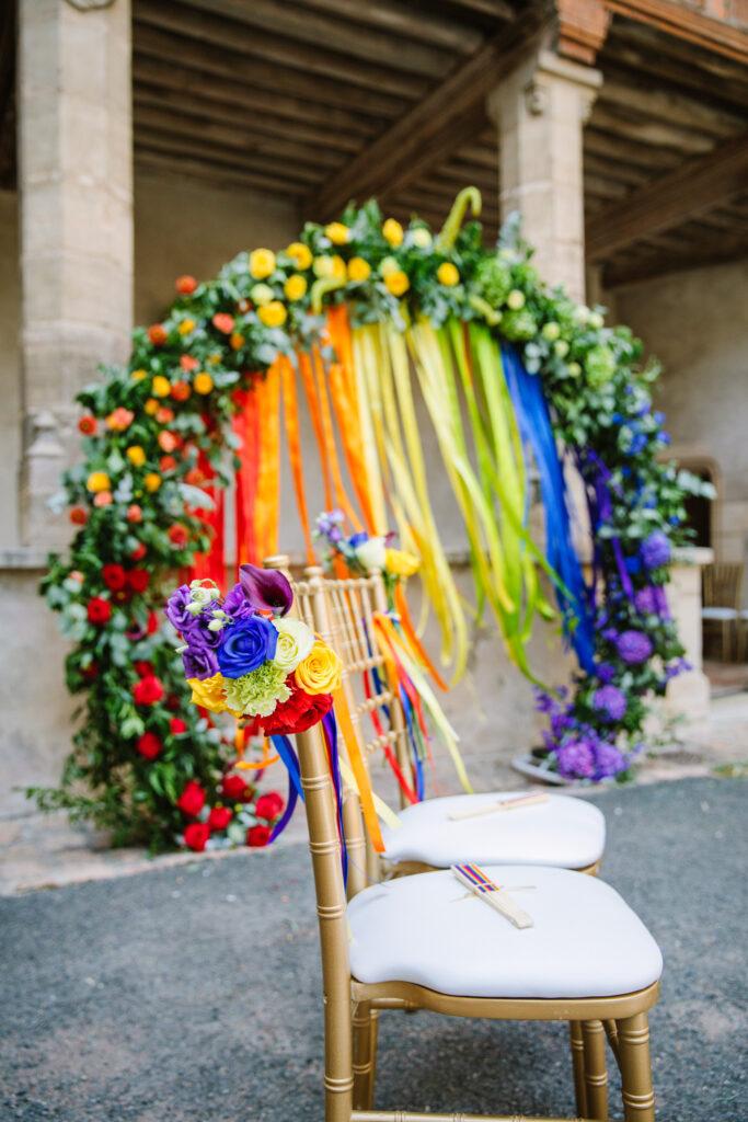 mariage arc en ciel wedding planner lyon