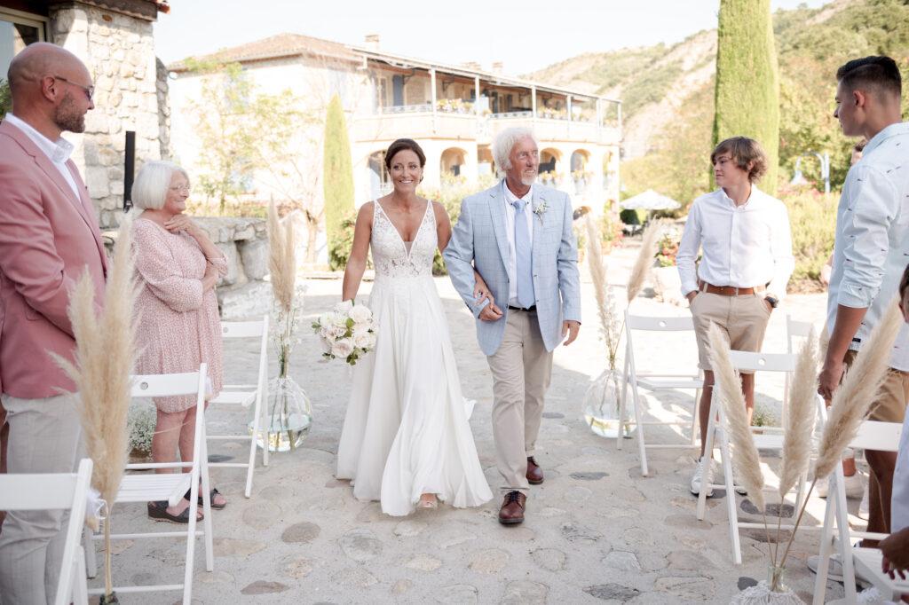 entree de ceremonie laique ardeche wedding planner d day organisation mariage