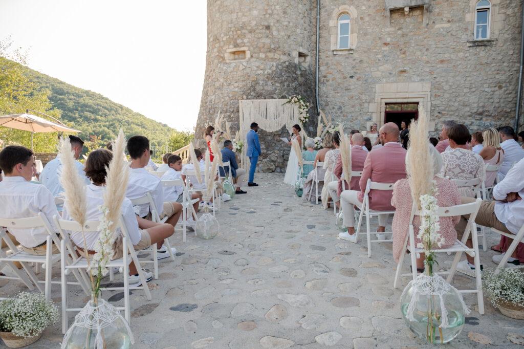 ceremonie laique ardeche  wedding planner d day organisation mariage