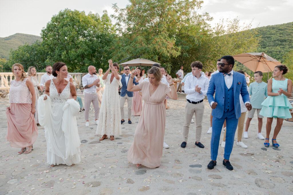 danse jerusalema mariage ardeche wedding planner d day organisation mariage