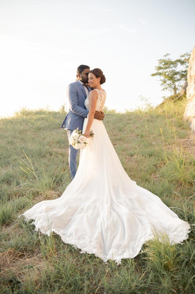 mariage extérieur gold hour drome provencal  wedding planner d day organisation mariage