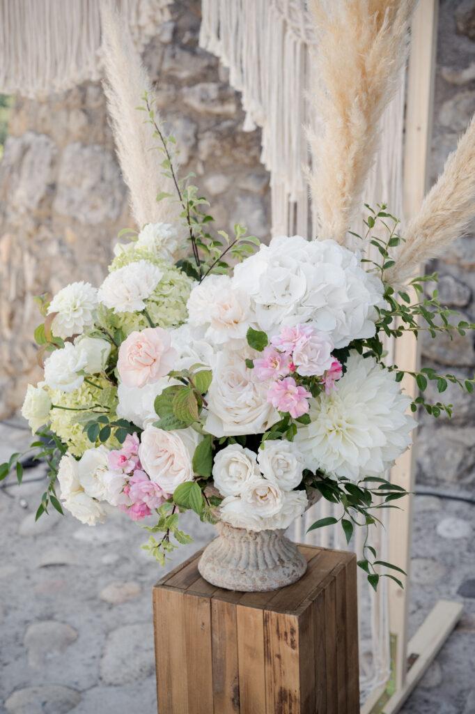 decoration fleurs pampa mariage ardeche  région wedding planner d day organisation mariage