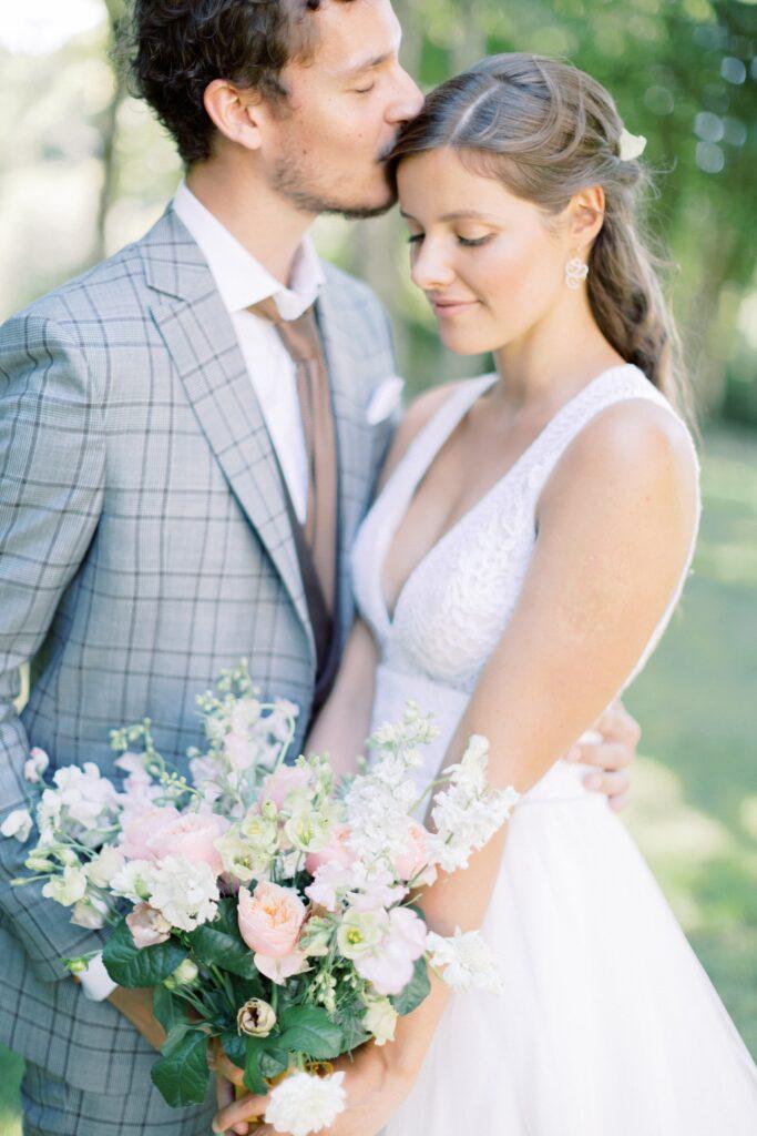 mariage rose blush en bretagne organisation de mariage vannes