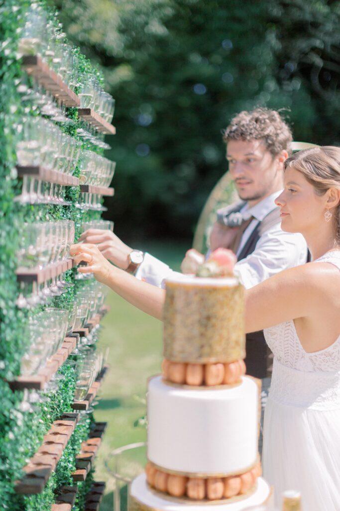 bar a champagne mariage bretagne