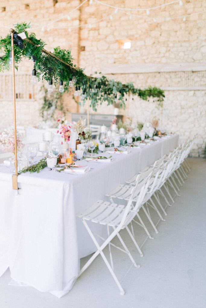 decoration mariage boheme rose beige mariage wedding planner drome orange