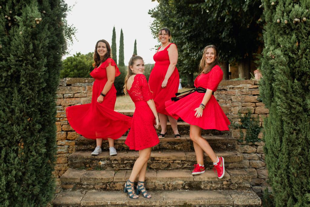 LA TEAM DES RED DRESS WEDDING PLANNER LYON mariage beaujolais organisation de mariage lyon wedding planner lyon mariage beaujolais