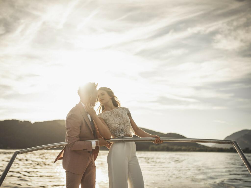mariage sur lac mariage à deux scéance de couple