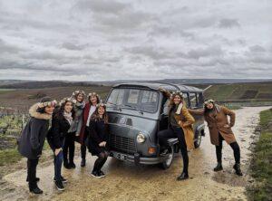 my vintage tour Company, bus pour visiter les vignes