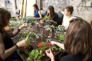 Atelier DIY de couronnes de fleurs