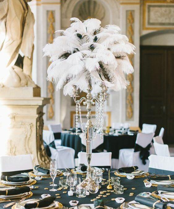 Mariage «Gatsby le magnifique» en Auvergne